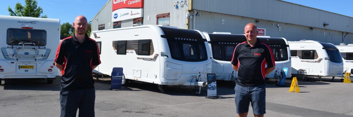 Campbells Caravans site